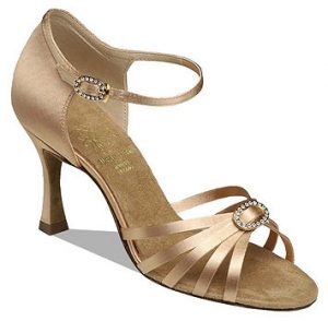Latin dance shoe - Open Toe Sandal
