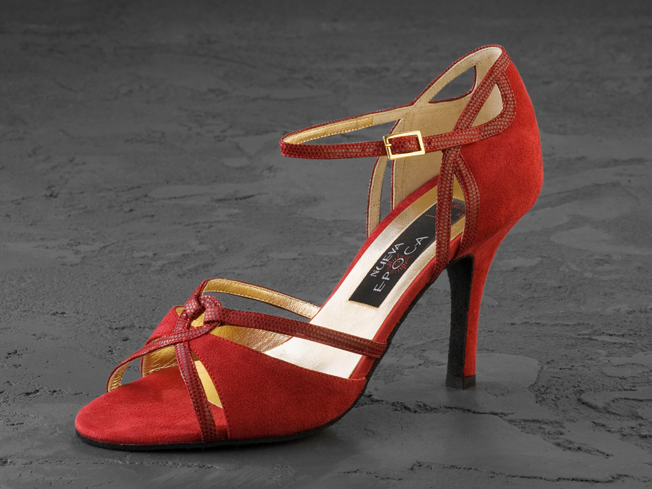 Red Argentine Tango Shoes
