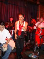 Club Havana Band with the lead singer Eveyln